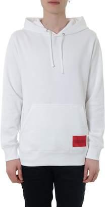 Calvin Klein Jeans White Andy Warhol Portrait Cotton Blend Sweatshirt