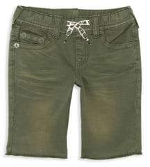 True Religion Toddler's, Little Boy's& Boy's Geno French Terry Cotton Shorts