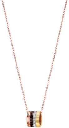 Boucheron Diamond Quatre Mini Ring Pendant Necklace