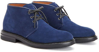 Aquatalia Men's Raphael Waterproof Suede Chukka Boot