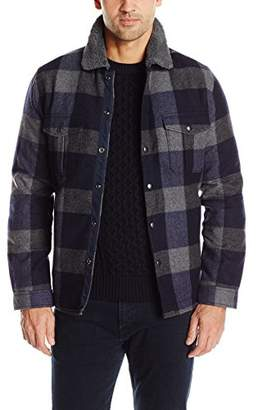 Lucky Brand Men's Sherpa Lined Buffalo Jacket