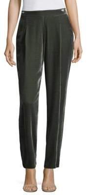 Lafayette 148 New York Soho Velvet Track Pants