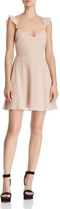FORE Ruffle Sleeve Dress
