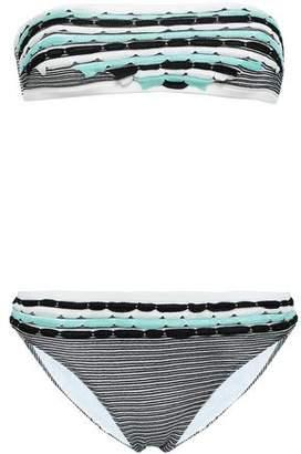 Missoni Mare Crochet-knit Bandeau Mid-rise Bikini