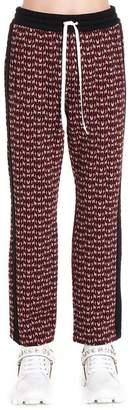 Miu Miu Logo Jacquard Sweatpants