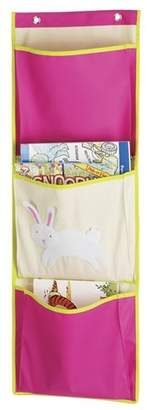 Whitmor Kid's Canvas Bunny Over The Door Pocket Organizer