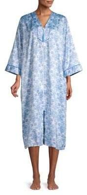 Miss Elaine Petite Floral Printed Sleepshirt