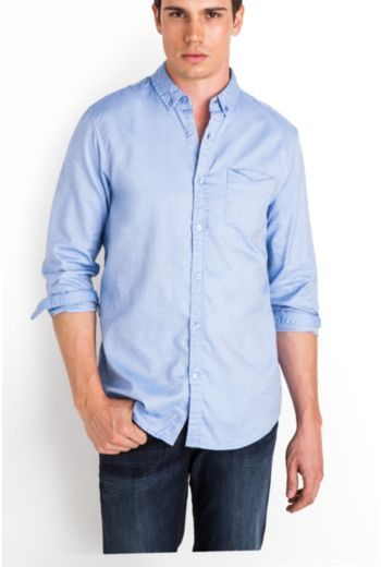 Rogan Long-Sleeve Slim-Fit Shirt