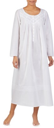 Eileen West Long Sleeve Nightgown