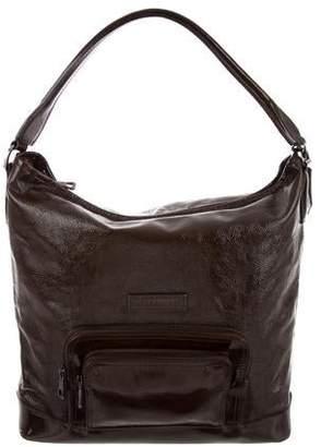 Longchamp Leather Hobo Bags - ShopStyle c256faa1c2783