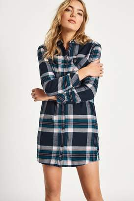 Jack Wills Dress- Maggie Checked Shirt