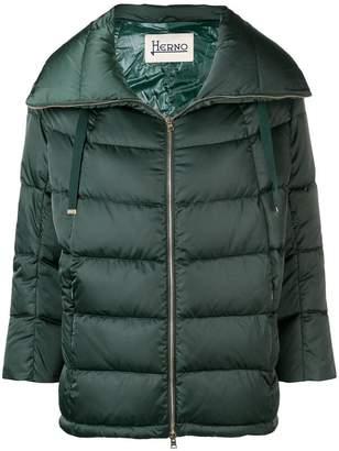 Herno shell puffer jacket