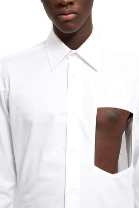 Xander Zhou Chest Cut-Out Shirt