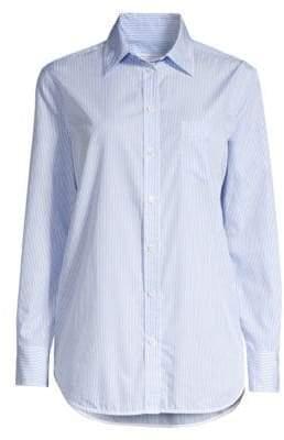 Equipment Kenton Pinstripe Cotton Shirt