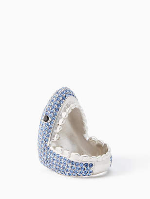 Kate Spade California dreaming pave shark ring