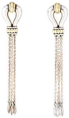 Lagos Derby Tassel Earrings