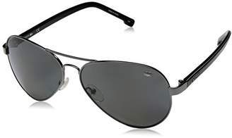 Lacoste L163sp Polarized Aviator Sunglasses