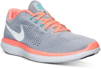 Nike Women's Flex 2016 RN Running Sneakers from Finish Line $79.99 thestylecure.com