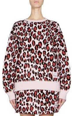 Kenzo Leopard-Print Pullover