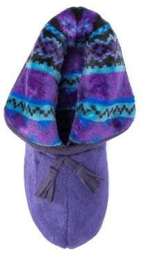 Muk Luks Women's Porchia Bootie Slipper