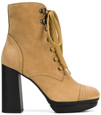Hogan high ankle boots