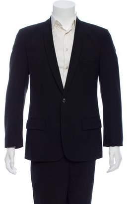 Maison Margiela Wool Shawl Collar Blazer