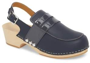 Hunter Refined Penny Loafer Clog