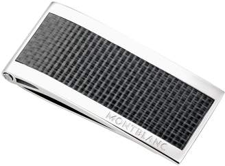 Montblanc Stainless Steel & Carbon Money Clip