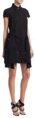 Alexander Wang Cotton Button-Front Dress