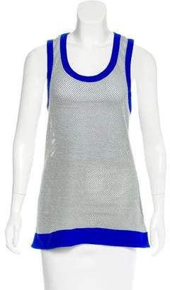NO KA 'OI No Ka'oi Mesh Sleeveless Top