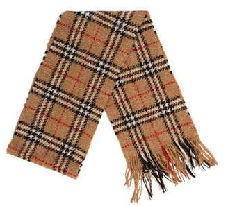 Burberry House Check Wool-Blend Scarf