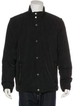 John Varvatos Convertible Zip Jacket