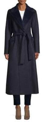 Harris Wharf London Self-tie Wool Trench Coat