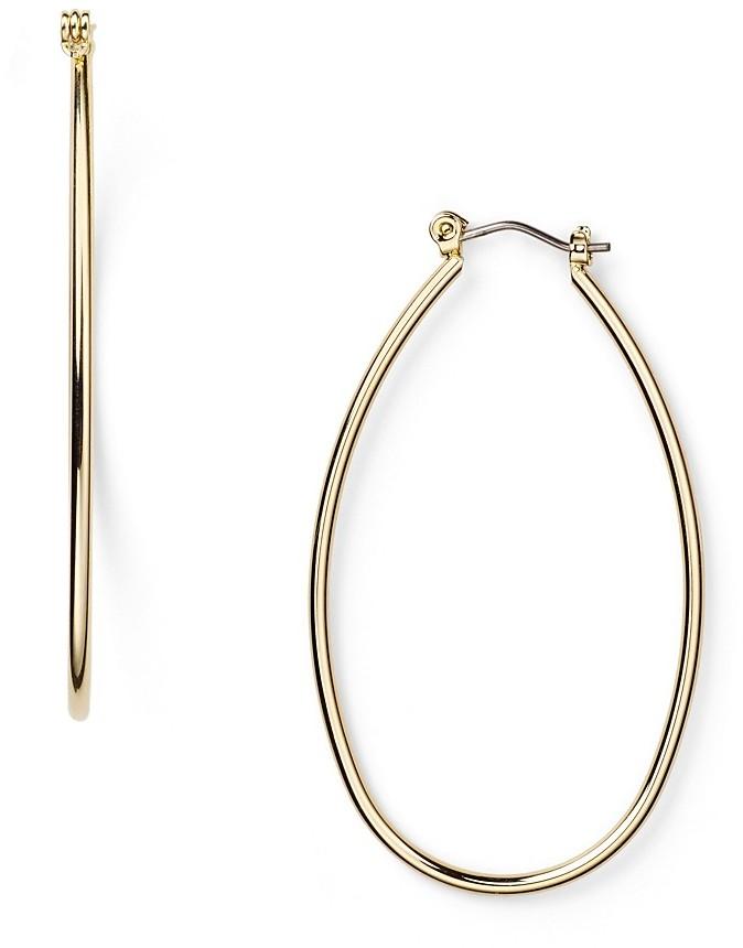 Lauren By Ralph Lauren Oblong Hoop Earrings