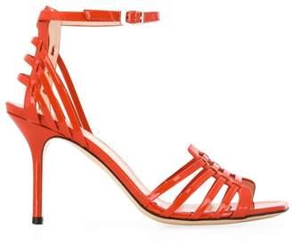 Pollini cut-out detail sandals