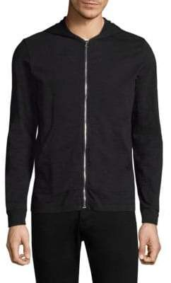 Theory Full-Zip Cotton Jacket