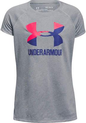 Under Armour Girls' UA Big Logo T-Shirt