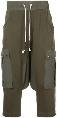 Mostly Heard Rarely Seen drop crotch cargo hybrid pants