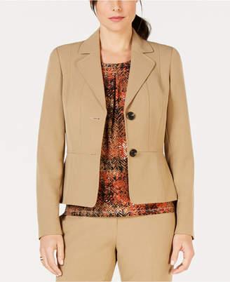 Kasper Two-Button Notch-Collar Jacket