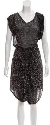 Etoile Isabel Marant Printed Midi Dress