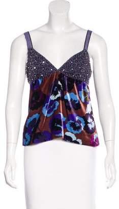 Missoni Silk-Blend Embellished Top