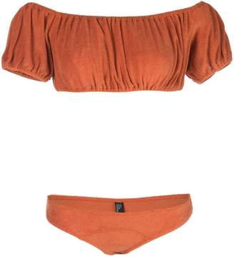 Lisa Marie Fernandez Leandra cloth bikini set