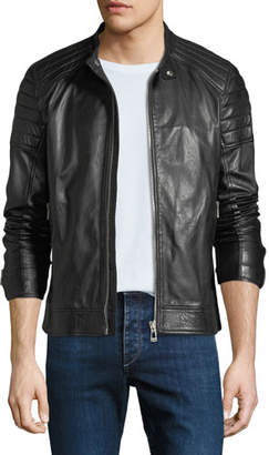 Belstaff Men's Northcott Tumbled Leather Jacket