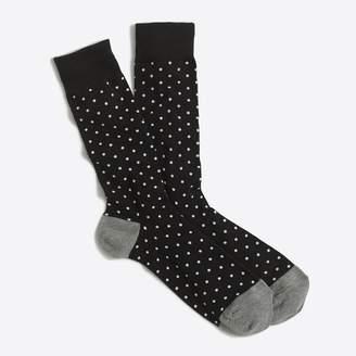 J.Crew Factory Microspot socks