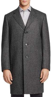 Canali Birdseye Water-Resistant Topcoat - 100% Exclusive