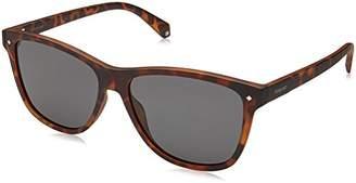 Polaroid Unisex's PLD 6035/S M9 N9P Sunglasses, Matt Havana Grey