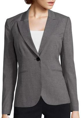 LIZ CLAIBORNE Liz Claiborne Long-Sleeve Suiting Blazer $60 thestylecure.com