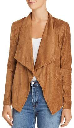 BB Dakota Earned It Lace-Up Faux Suede Jacket