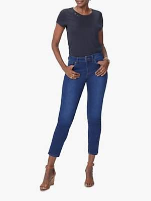 NYDJ Alina Skinny Ankle Jeans, Cooper Blue