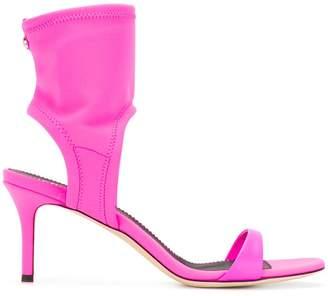 Giuseppe Zanotti Design back zip anklet sandal